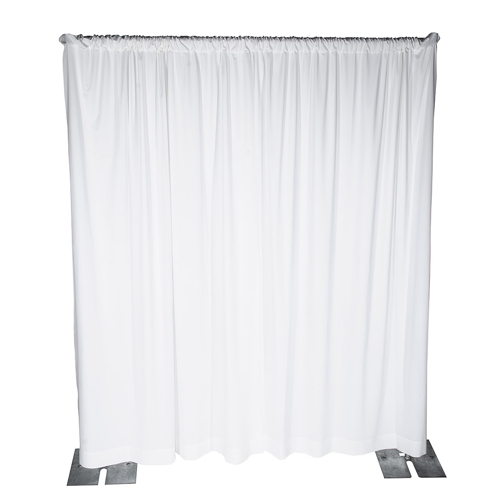 drapes price per compressor linear black white product foot props bdc pipe rental and drape banjo