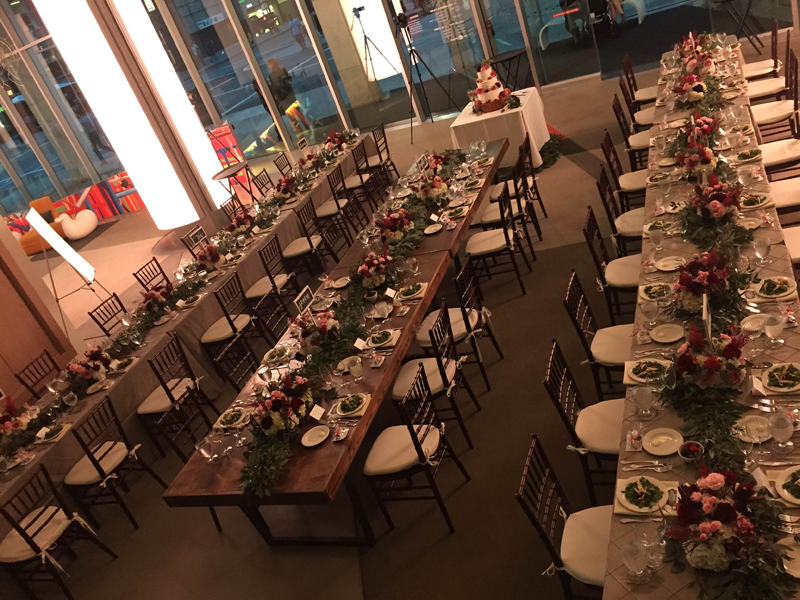 Decorative table settings for a wedding & Decorative table settings for a wedding | The Alleen Company