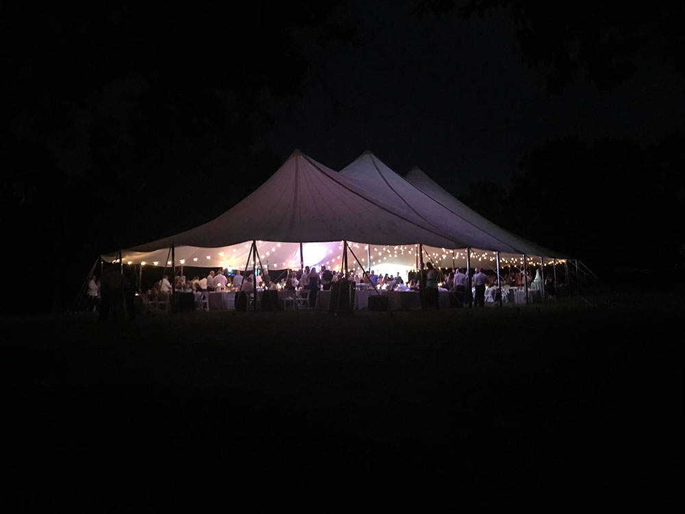 Sailcloth Tent from The Alleen Company