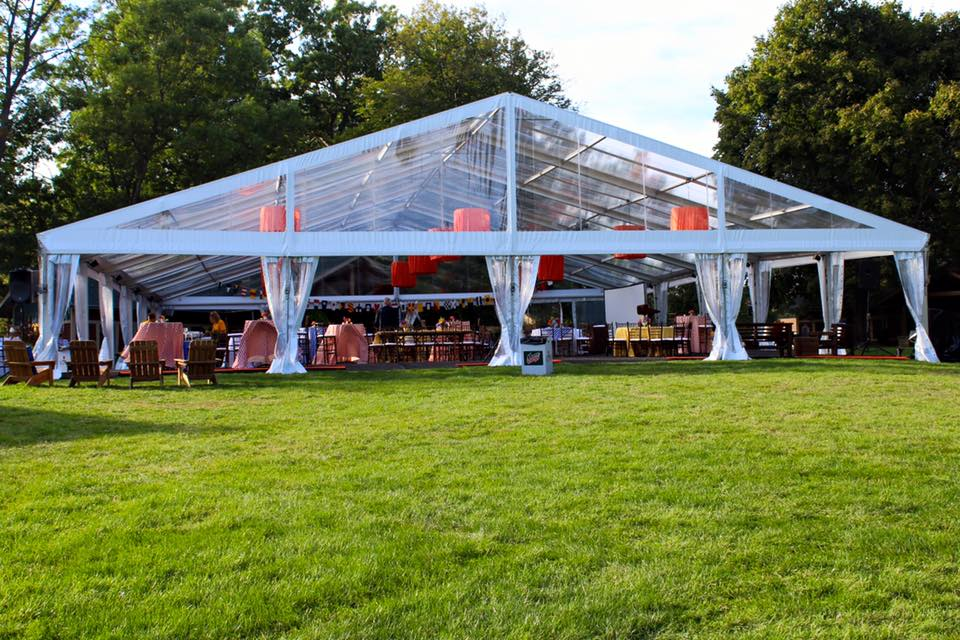 Ideal Events for a Clear Top Tent | The Alleen Company