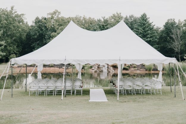 Belwood tent private party rentals
