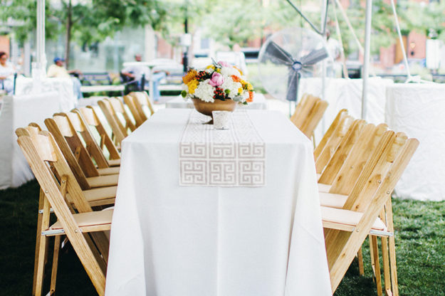 Table and Chair Rentals The Alleen Company
